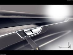 #volvo #coupe #sleeky #simple #effective #sexy #door #handle #design #concept #partdesign #interior #car #automotive #industry #future