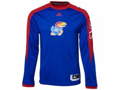 adidas NCAA On Court Long Sleeve Shooter 13 Kansas Jayhawks d2aa50473fbaa