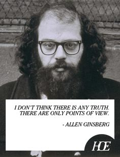 Quote of the Day: Allen Ginsberg
