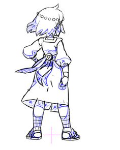 We get a lot of questions about the skirt length of #IndivisibleRPG's heroine, Ajna. Is it short or long? So here's our answer!