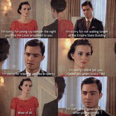 gossip girl makes me cry Gossip Girl Chuck, Gossip Girls, I'm Chuck Bass, Gossip Girl Quotes, Chuck Blair, I Give Up, Queen, Fashion Quotes, Funny Relatable Memes