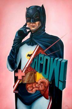 batman anatomiy