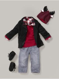Great Gifts from Oshkosh B'gosh | Mock neck, Toddler boy outfits ...