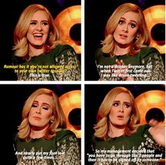 When she drunk-tweeted so much she was banned from her own Twitter account. | 27 Times Adele Proved She's Actually The Realest Celebrity Of All