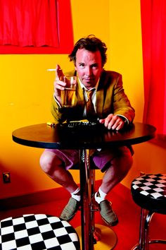 """I'm Doug Stanhope. And that's why I drink..."""