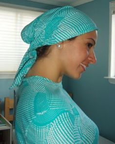 Ladies Hair Covering Style A
