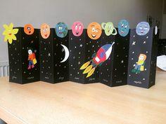 Kids Crafts, Space Crafts For Kids, Preschool Activities, Diy For Kids, Diy And Crafts, Arts And Crafts, Space Kids, Planets Activities, Space Activities