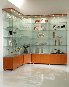 The Premier Lite range is our Value Range of glass cabinets which includes FREE DELIVERY.These quality glass display cabinets are constructed from toughened glass, veneer finished with quality hinges, latches, fittings and are finished to a high standard.