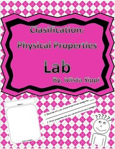 classification of matter worksheet - Google Search ...
