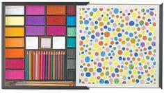 Vintage Dot Paint Set