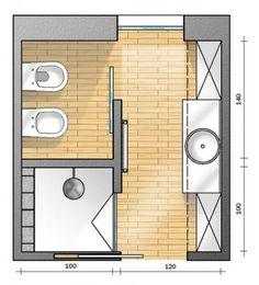50 Ideas For House Interior Bathroom Layout Bathroom Floor Plans, Bathroom Flooring, Bathroom Faucets, Bathroom Mirrors, Bathroom Cabinets, Small Bathroom Plans, Kitchen Cabinets, Bathroom Design Layout, Bathroom Interior Design