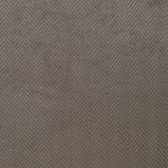 Taupe Herringbone Upholstery Velvet - Home Fabrics