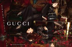 Karmen Pedaru, Nadja Bender | Mert Alas and Marcus Piggott #photography | Gucci F/W '12 Ad Campaign