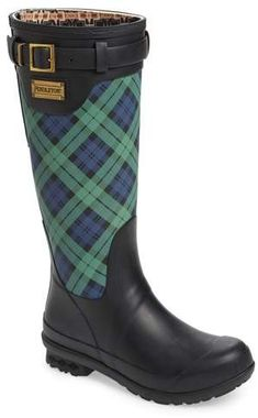 online shopping for Pendleton Heritage Black Watch Tartan Tall Boot (Women) from top store. See new offer for Pendleton Heritage Black Watch Tartan Tall Boot (Women) Mode Tartan, Tartan Plaid, Tweed, Tartan Fashion, Fashion Boots, Short Rain Boots, Doc Martens Boots, Vegan Boots, Shearling Boots