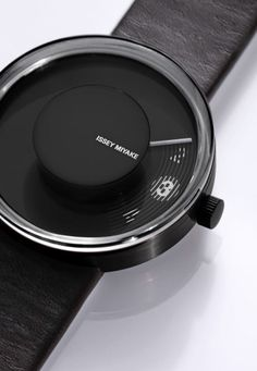 Check this out on leManoosh.com: #Black #Button #Fuseproject #Gradient #See Through #Watch