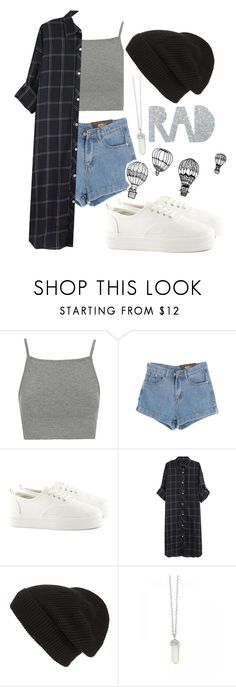"""""""Untitled #137"""" by rosebuscemi on Polyvore featuring Topshop, Chicnova Fashion, H&M, INDIE HAIR, Phase 3, back, pastelgoth and pastels"""