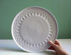 Vintage große Arzberg  Kuchenplatte Tortenplatte von ILoveSparrows auf DaWanda.com