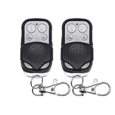 Wireless Remote Control Controller Keyfobs Keychain 433MHz 2pcs Just For Alarm System