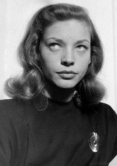 Lauren Bacall by Nina Leen 1940s