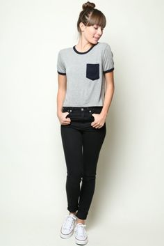 Brandy ♥ Melville | Arielle Top - Tees - Tops - Clothing