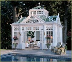 conservatory pool house