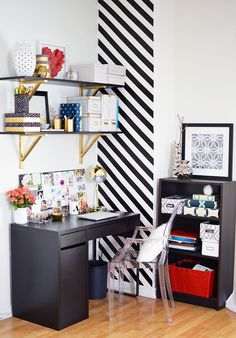 Whether you're looking for more ways to store paper and magazines or just need a colorful new cork board, we rounded up 44 really cool DIY projects to give you the most gorgeous and most organized workspace you've ever had.