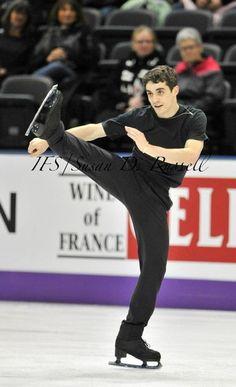 Javier Fernandez(Spain) Plactice : World Figure Skating Championships 2013 in London(CANADA)