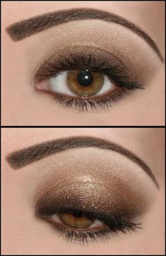 Instead of darker only in corner, do darker along lash line.