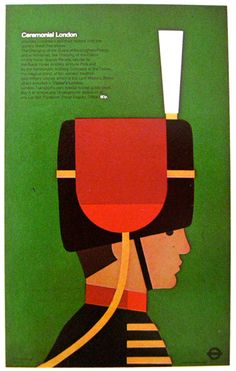 Ceremonial London designed by Tom Eckersley for the London Transport Executive c.1977 | SO MUCH PILEUP: Across the pond