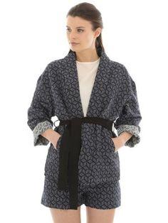 Kimono ceinturé de Pimkie : Les vestes et manteaux de printemps qu'il nous faut - Journal des Femmes
