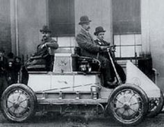 World's First Hybrid Car from 1898