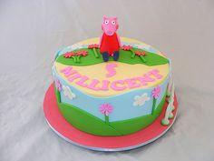 Peppa Pig Cake by My Cake Place http://www.mycakeplace.com.au/