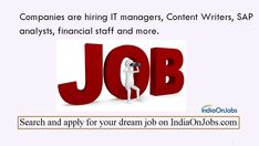 The best naukri job search site to find the latest jobs in India. IOJ, The job site in India offers free job posting and free recruitment tools. Job Search, Free Job Posting, Best Online Jobs, Job Portal, Job Offer, Good Job, Dream Job, Resume