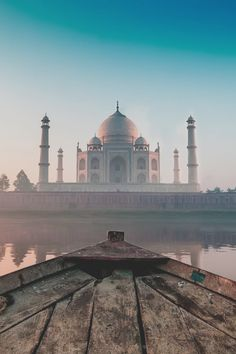 Taj Mahal, India and at sunrise Places Around The World, Oh The Places You'll Go, Travel Around The World, Places To Travel, Travel Destinations, Places To Visit, Around The Worlds, Travel Trip, Group Travel