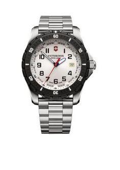 Victorinox Swiss Army Silver Mens Maverick Sport Watch