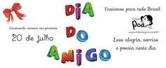 #diadoamigo é dia 20 de julho, que tal dar um mimo especial? www.colecaopoa.com.br
