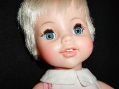 REAL LIVE LUCY BABY DOLL BY IDEAL   Vintage 1967  All Original With Bottle #IDEALDOLLS