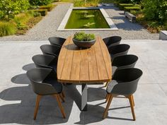 Outdoor Dining, Outdoor Spaces, Indoor Outdoor, Outdoor Decor, Terrace Garden, Garden Table, Beach Lounge, Garden Furniture, Outdoor Furniture Sets