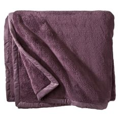 Target Warm Fuzzy Blanket 25.00. I have this in cream and bought 2 for my son in gray (though we found out 1 is PLENTY warm) It is truly soft and has just enough weight to make you feel snuggly. Love these blankets. They come in bed sizes (twin, queen, king)