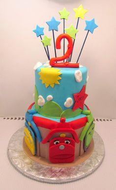 Chuggington Cake Kit. $40.00, via Etsy.