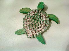 Beer bottle cap craft project ~ Art Craft Gift Ideas