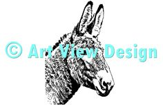 Our Donkey Design || Original and one of a kind || Pattern can be used for everything and every cutting machine || ♡