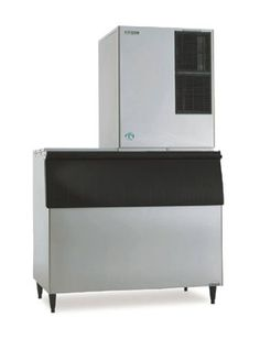 Commercial Ice Maker Stainless Steel Freestanding Ice Machine for Bar Coffee Shop Business Produces 200lbs of Ice in 24 Hrs with 55lbs Storage Bin Automatic Ice Cube Making Machine with Self Clean