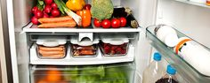 Lose Weight By Rearranging Your Fridge - Studies show the way you organize your fridge can significantly influence how you eat; and if you're not careful, it could undermine your weight loss efforts. We asked Allison Sattison, RD, clinical dietician for Indiana University Health, for some fridge-smart tips.