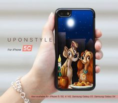 Lady and the Tramp Disney iPhone case!! $8.99 on Etsy!