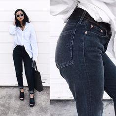 Get this look: http://lb.nu/look/8668343  More looks by Tiffany Wang: http://lb.nu/tiffwang  Items in this look:  Levi's® Jeans, Zara Shoes, Saint Laurent Bag, H&M Shirt, Ray Ban Sunglasses   #boyfriendjeans #levis #zara