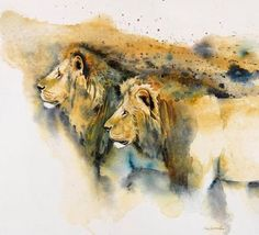 Karen Laurence-Rowe | WATERCOLOR | African Wildlife
