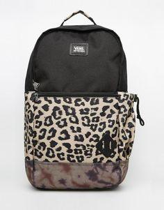Vans Doren Backpack In Animal Print