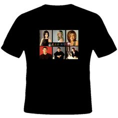 Friends Tv Show Comedy T Shirt [ 37637_Black ] - www.studiotees.com ($18) ❤ liked on Polyvore