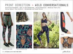 Activewear Print & Pattern Trend Report - Autumn/Winter 2018/19 - Patternbank